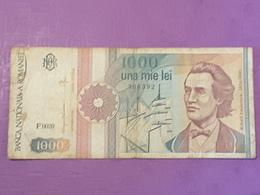 Roumanie 1 000 Lei 1991  P99 Circulé - Roumanie