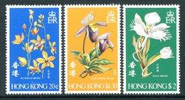 Hong Kong 1977 Orchids Set MNH (SG 368-70) - Hong Kong (...-1997)