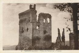 07 // VERNOUX  Ruines Du Chateau De La Tourette  12 - Vernoux