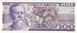 México 100 Pesos 27-1-1981 PY Pick 74.a UNC - México