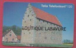 SUEDE--Carte Chip SC7--Telia Telefonkort 120 Markeringer--Glimmingehus-borjade Byggas 1499 Och... - Sweden