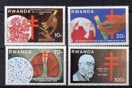 RWANDA  Timbres Neufs ** De 1982 ( Ref 5287 ) Santé- Vaccin - Dr Koch - Ruanda
