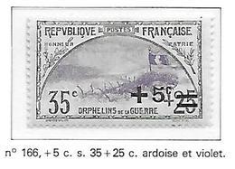 FRANCE N°166 - NEUF * * - Unused Stamps
