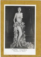 CELEBRITES D EPOQUE . CASINO DE PARIS. MAITA OSSIRA. FEMME NUS ARTISTIQUE TRES BEAU - Celebrità Di Una Volta < 1960