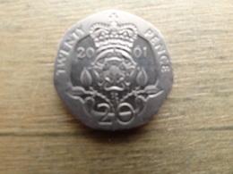 Grande-bretagne  20  Pence  2001  Km 990 - 1971-… : Monnaies Décimales