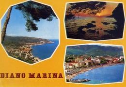 Diano Marina - Il Golgo - Tramonto - Lido S.anna - 905 - Formato Grande Viaggiata – E 5 - Imperia