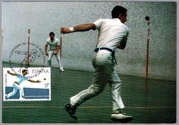 Campeonato Del Mundo De PELOTA VASCA - World Champ. Basque Pelota. Vitoria-Gasteiz, Alava, 1986 - Sellos