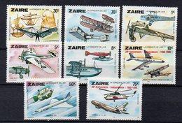 ZAIRE  Timbres Neufs ** De 1978 ( Ref 5290 ) Transport - Avion - Zaïre