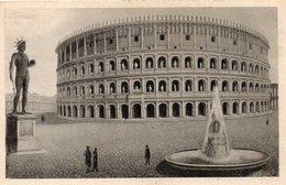 CPA ROMA - IL COLOSSEO RESTAURATO - Colosseum
