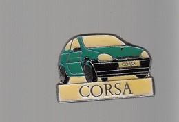 Pin's - VOITURE BLEU - OPEL CORSA - Opel