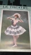 Affiche (dessin)  - ACADEMIE NATIONALE DE MUSIQUE - Danses De Jadis Et De Naguère - Danses Modernes Mlle SANDRINI - Affiches