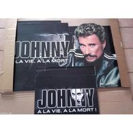"""Johnny Hallyday """" PLV A La Vie à La Mort """" - Accessories & Sleeves"""