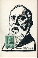 33391 Belgium, Maximum 1932 Zenobe Gramme,inventor Erfinder AC Motor, Drehstrommotor - Maximum Cards
