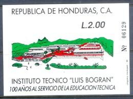 A267- Honduras 1990. 100 Years Technical Institute Luis Bogran. - Honduras