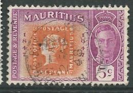 Maurice  - Yvert N° 215    Oblitéré    -  Bce 10927 - Mauritius (...-1967)