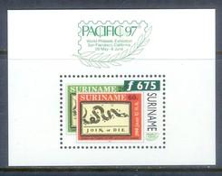 A272- SURINAME. 1997. PACIFIC 97. INTERNATIONAL PHILATELIC EXHIBITION . PACIFIC 97. EXPOSICION FILATELI. - Philatelic Exhibitions