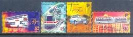 A273- Singapore 1997 Transport. Transportation. Car. Bus. Tram. Taxi. - Transport