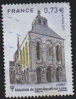 5146 - Abbaye De Saint-Benoit-sur-Loire (Loiret) - Oblitéré -année 2017 - Gebruikt