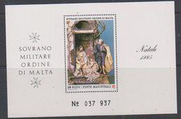 Ordine Di Malta 1985 Christmas M/s ** Mnh (38577A) - Malta (Orde Van)