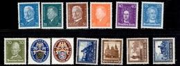 Allemagne/Reich Petite Collection Neufs * 1925/1932. Bonnes Valeurs. B/TB. A Saisir! - Allemagne