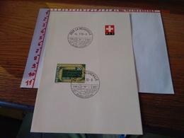 144262 FOGLIETTO DI FRANCOBOLLI STAMPS SVIZZERA  PTT 1970 - Schweiz