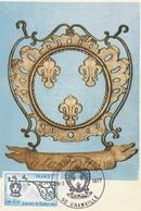 Granville 1977 Journée Du Timbre - Carte-maximum - Cartes-Maximum