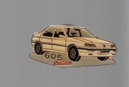 Pin's - VOITURE PEUGEOT 605 SOCHAUX - Peugeot