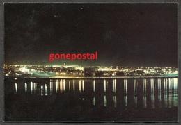 620 - QATAR 1970s Doha City By Night - Qatar