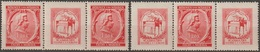 17/ Bohemia & Moravia; ** Nr. 70; Stamps With Coupons - Neufs