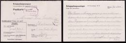 Correspondance Des Prisonniers De Guerre STALAG XI B -  Jousset Roland à René Poisson - Marcophilie (Lettres)
