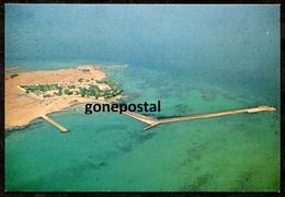745 - QATAR 1970s Ras Usheiri Palace From Air - Qatar
