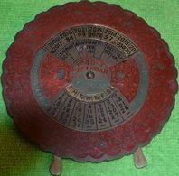 ASIA  INDIA  CALENDARIO  MECCANICO  1993 /  2032 - Arte Asiatica