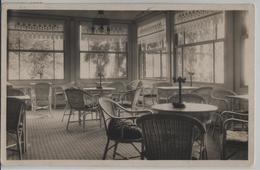 Glasveranda - Hotel Paradies, Weggis - Photo: J. Ch. Caspar No. 17 - LU Lucerne