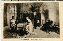 G.Induno. La Partita A Scacchi - Lot. 2002 - Scacchi