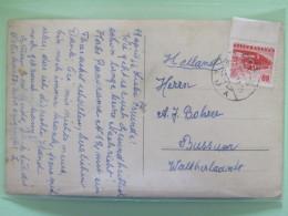 Hungary 1966 Postcard To Holland - Autobus Bus - Hungary
