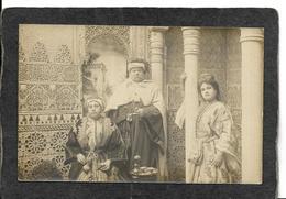 Spain-U.P.U.,Royal Family RPPC 1904 - Antique Real Photo Postcard - Spain