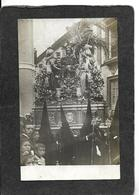 Seville,Spain-Church Parishoners And Sculpture RPPC 1910s - Antique Real Photo Postcard - Spain
