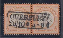 DR Minr.14 Waager. Paar R2 Querfurt 29.10. Geprüft Krug BPP - Deutschland