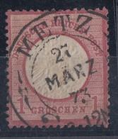 DR Minr.19 Gestempel Hufeisenstempel Metz 27.3.73 Spalink 25/1 - Germany