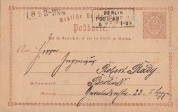 DR Ganzsache R3 Berlin Post-Amt 1  8.2.75 - Briefe U. Dokumente