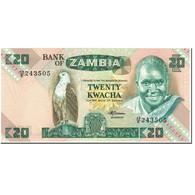 Billet, Zambie, 20 Kwacha, 1986-1988, Undated (1986-1988), KM:27e, NEUF - Zambia