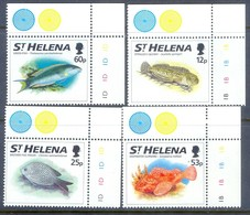 A284- St Helena 1994. Fish. Marine Life, Marine Fauna. Fishes. - Fishes