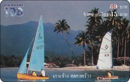 Thailand Pin Phone 108 Phonecard   Kat. 668 Eiland Insel - Thaïland