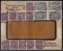 DR Brief Mif Minr.7x 250,4x 252,12x 268 Erfurt 25.8.23 - Deutschland