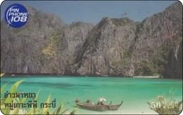 Thailand Pin Phone 108 Phonecard   Eiland Insel - Thaïland