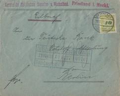 DR Brief Eilbote Mef Minr.6x 328 Friedland (Meckl.) 28.11.23 - Deutschland