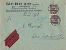 DR Brief Eilbote Mef Minr.2x 325A Görlitz 5.11.23 - Deutschland