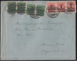 DR Brief Mif Minr.4x 293,3x 309A Brandenburg 11.10.23 - Deutschland