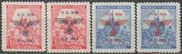 1/ Bohemia & Moravia; ** Nr. 72 - 73; Shades - Unused Stamps