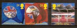 Grande-Bretagne United Kingdom 1992 Yvertn° 1621-1623 *** MNH Cote 5,25 Euro Sport Jeux Olympiques Barcelone - 1952-.... (Elizabeth II)